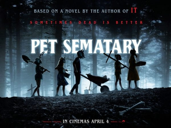 FILE PHOTO: A Poster of PET SEMATARY (2019). ©Paramount Pictures Corporation