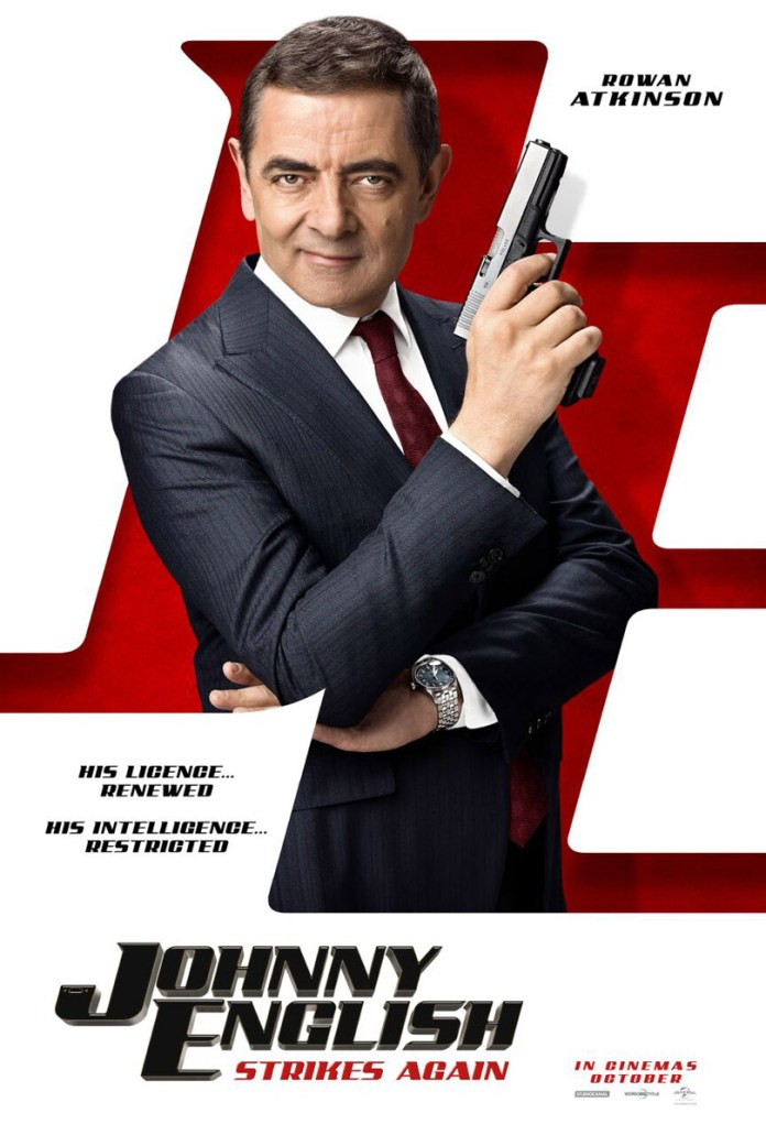 FILE PHOTO: A Poster of JOHNNY ENGLISH STRIKES AGAIN (2018). ©Universal Studios
