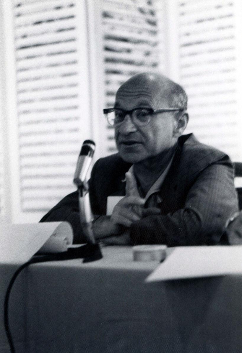 File Photo: Milton.Friedman ©Meiselman, Ellen
