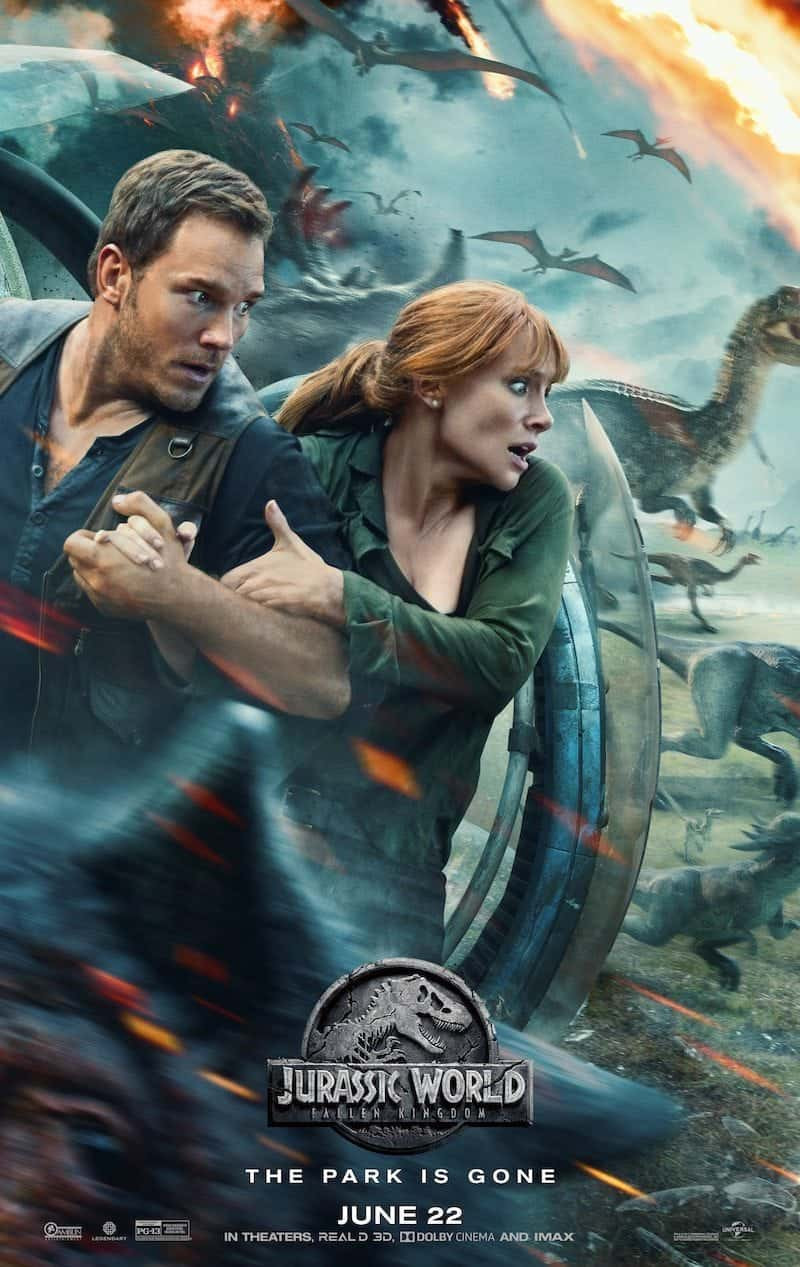 FILE PHOTO: A Poster of JURASSIC WORLD: FALLEN KINGDOM (2018). ©Universal Studios