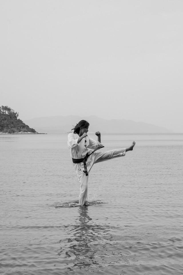 Japanese Hong Kongese Protagonist as Karate Role