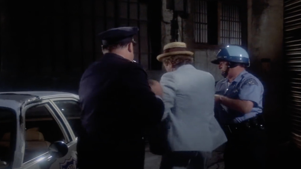 FILE PHOTO: Kolchak is also arrested by police after that in The Night Strangler (1973). ©ABC