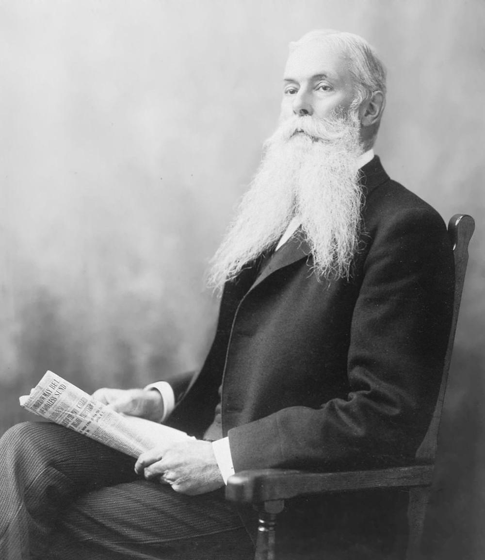 File Photo: Sanford Ballard Dole (1844–1926)  Image: Wikimedia=Wikipedia