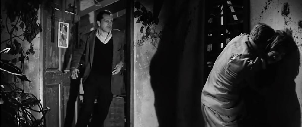 FILE PHOTO: A vampire attacks Ruth Collins (Franca Bettoia) in The Last Man on Earth (1964). ©Public Domain
