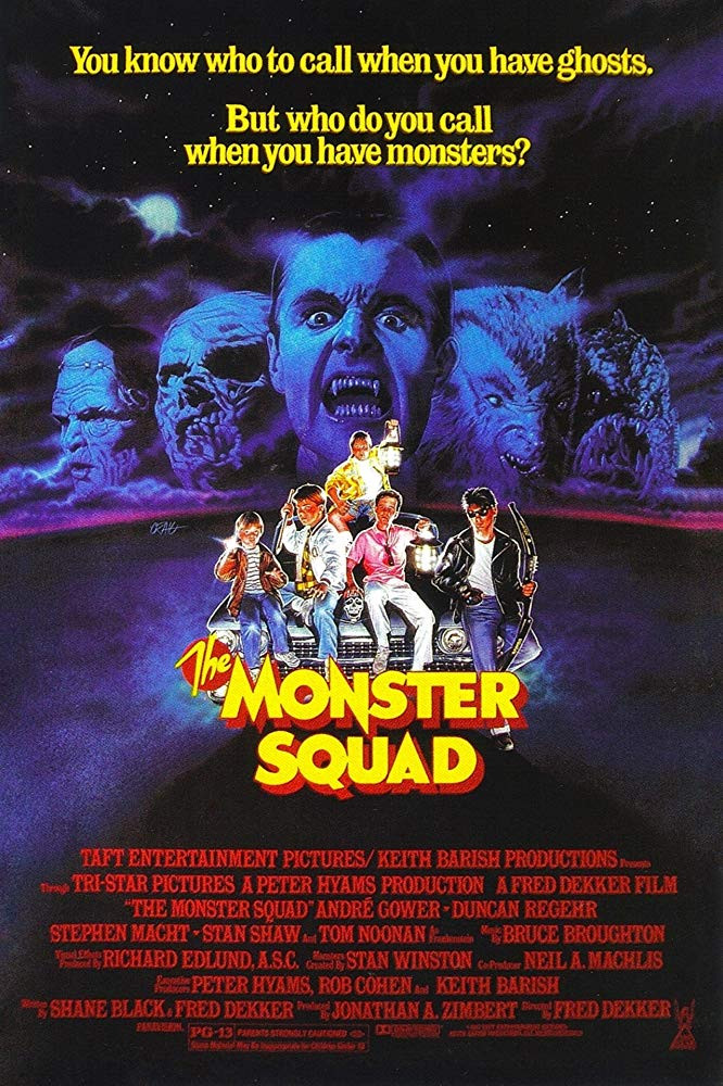 FILE PHOTO: A Poster of THE MONSTER SQUAD (1987).  ©TriStar Pictures