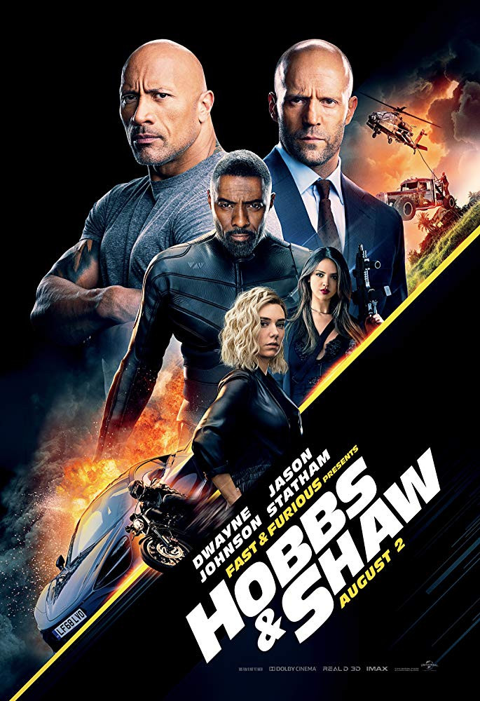 FILE PHOTO: A Poster of FAST & FURIOUS PRESENTS: HOBBS & SHAW (2019). ©Universal Studios