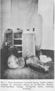 PHOTO FILE: A Proof of US Biological War against China during Korean War. Cited from ISC Report, pg. 403  Image:ISC