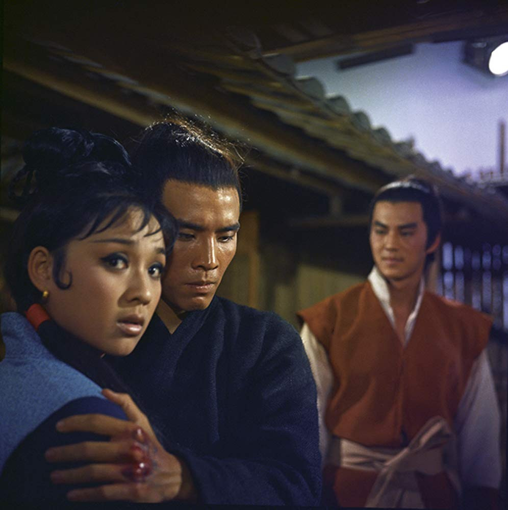 FILE PHOTO: A Still Image of THE NEW ONE ARMED SWORDS MAN (Dir. Cheh Chang; 1971).  ©Shaw Brothers Studio