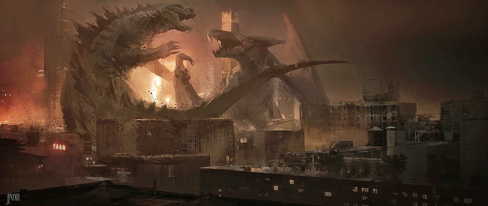 FILE PHOTO: A Design Work of GODZILLA:KING OF THE MONSTERS (2019). ©Warner Bros. Entertainment, Inc.