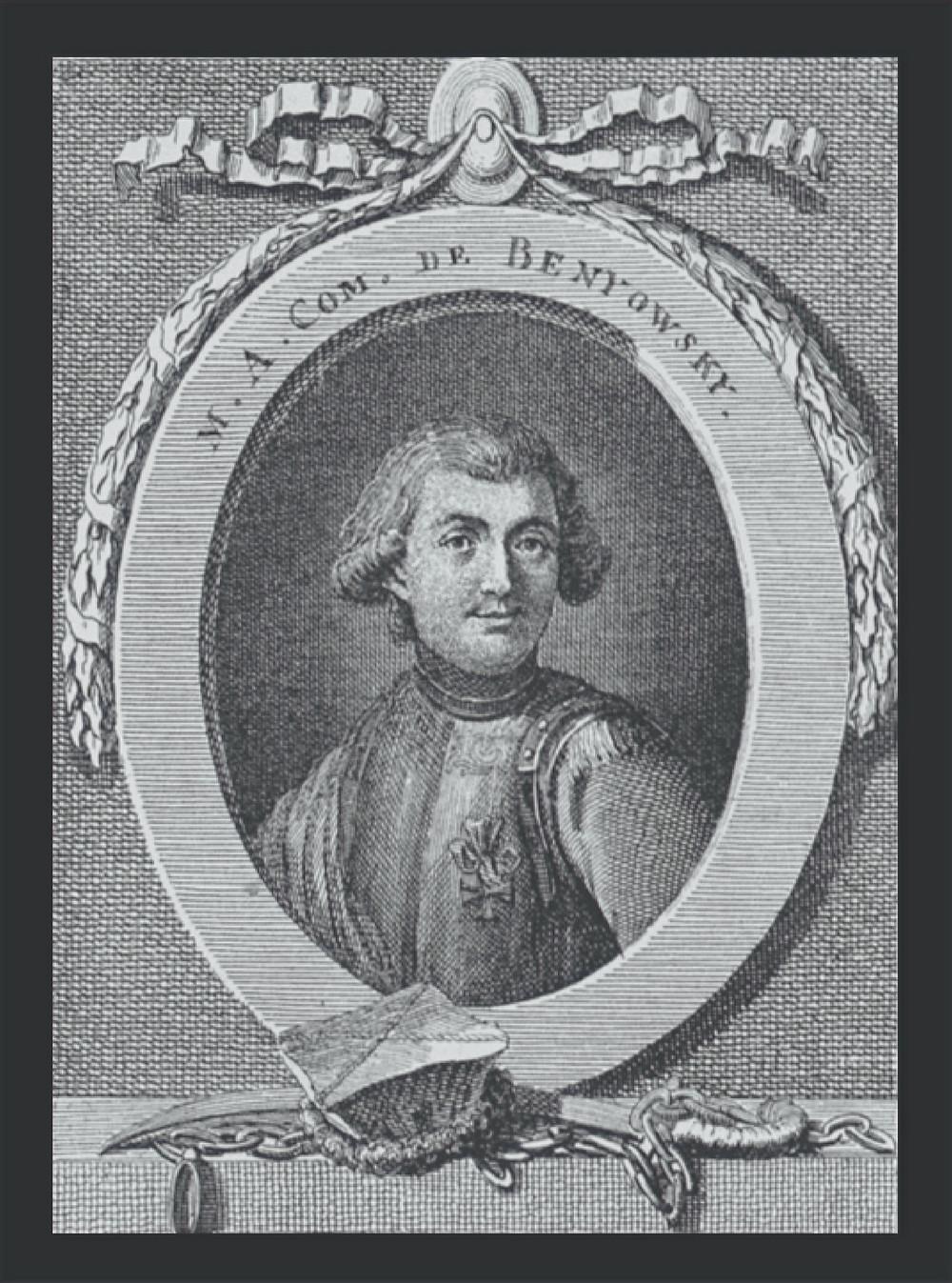 FILE PHOTO: Maurice Benyovszky (1746-86) ©Wikimedia / Public Domain