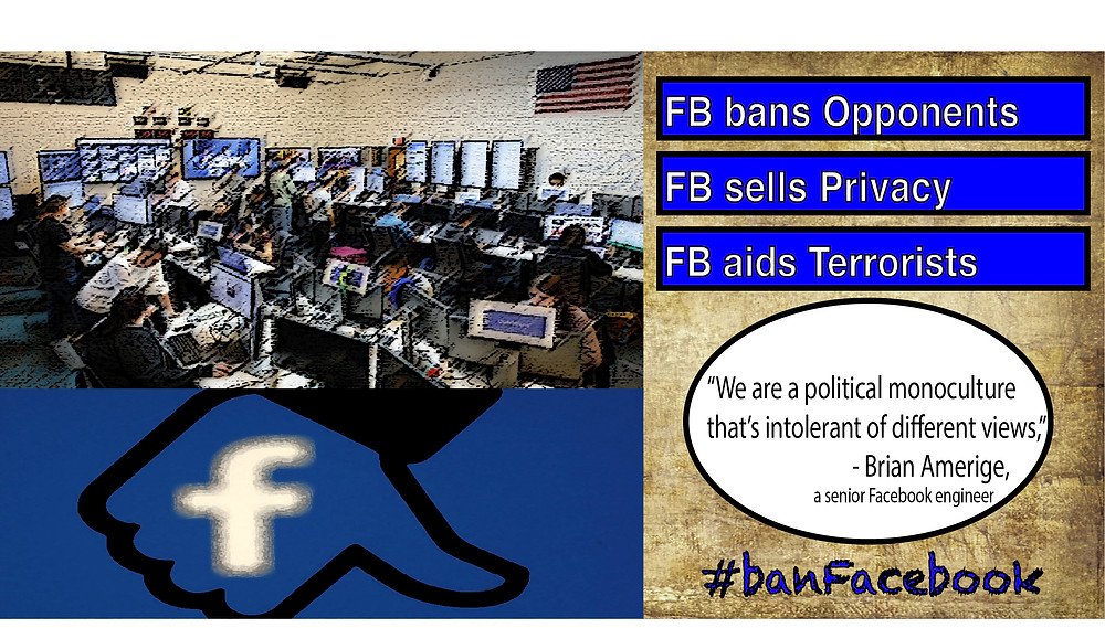 Facebook's Violations Against Laws and Human Rights of its Users must be Punished.