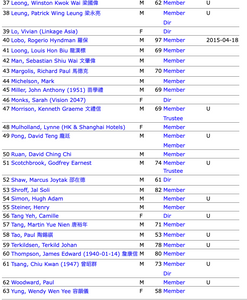 FILE PHOTO: VISION2047 MEMBER LIST ON MARCH 2020.  Screenshot ©Ryota Nakanishi