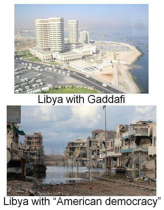 FILE PHOTO: An Infographic on the Post 2011 Libya.  Image: Public Domain