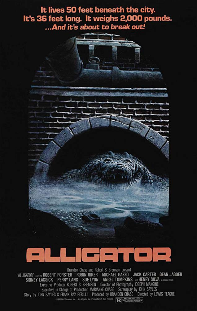FILE PHOTO: A Poster of ALLIGATOR (1980). ©Group 1 Films