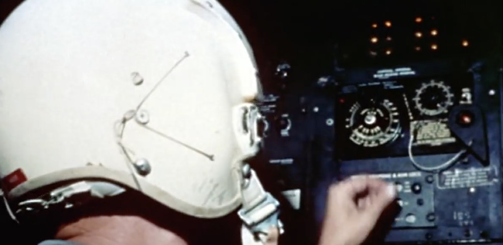 Fig.23:  Footage shows cockpit of bomber.  ©Youtube