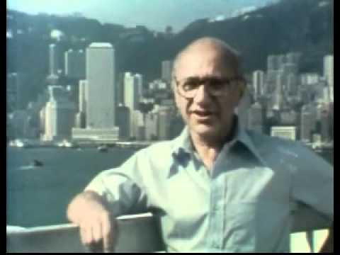 FILE PHOTO: Milton Friedman in Hong Kong. Image: Public Domain