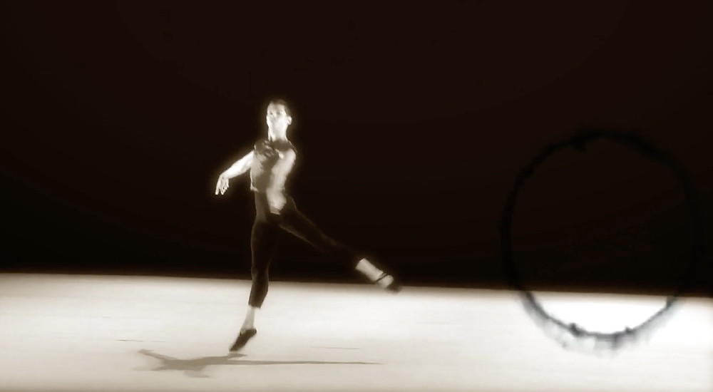 FILE PHOTO: Frank's ballet dance footage.  ©Crystal Lake Entertainment