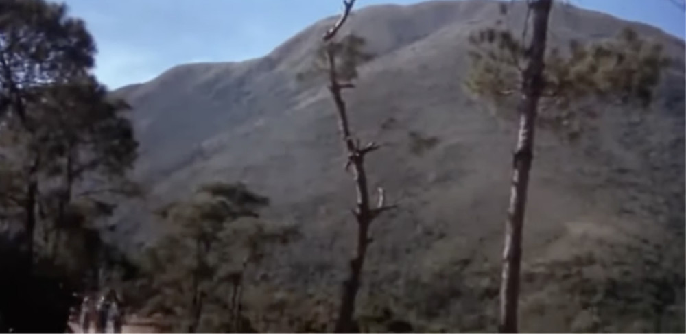 FILE PHOTO: Fig.13 Mountain path near the doomed village. © Hammer Film Productions / Shaw Brothers