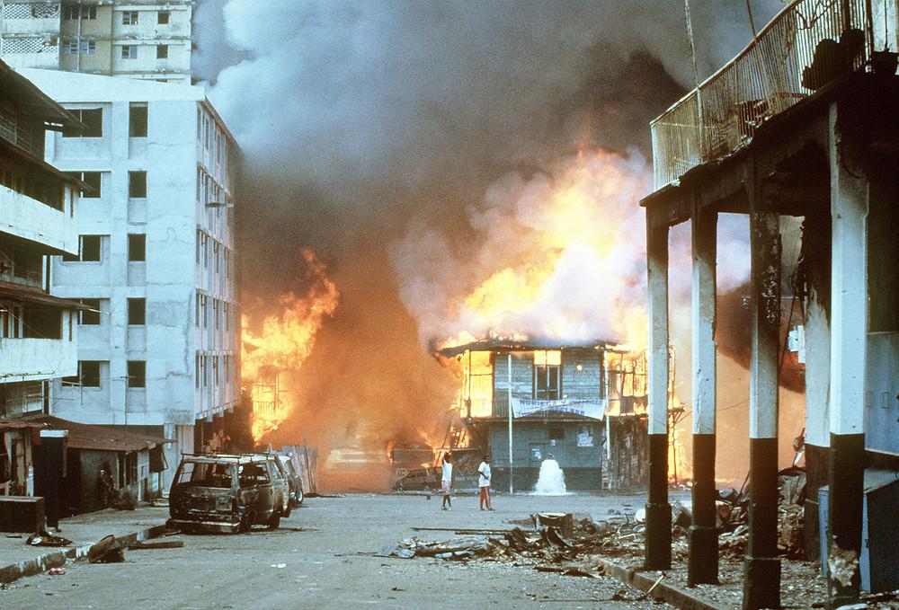 File Photo: US Panama invasion in 1989. Image: Wikimedia=Wikipedia