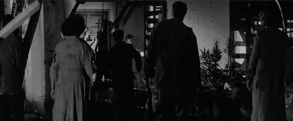 FILE PHOTO: 'Zombie assault' in The Last Man on Earth (1964). ©Public Domain