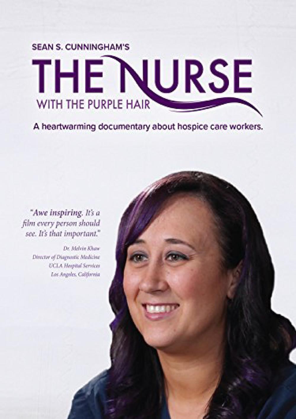 FILE PHOTO: The Nurse with the Purple Hair (Dir. Sean S. Cunningham; 2017)  ©Crystal Lake Entertainment