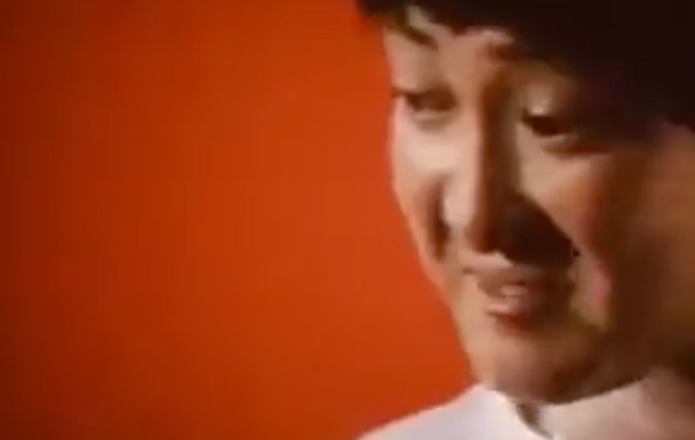 Fig.7 Sammo Hung's zoom up.