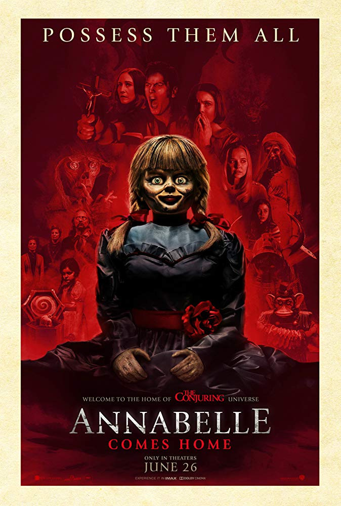 FILE PHOTO: A Poster of ANNABELLE COMES HOME (2019). ©New Line Cinema