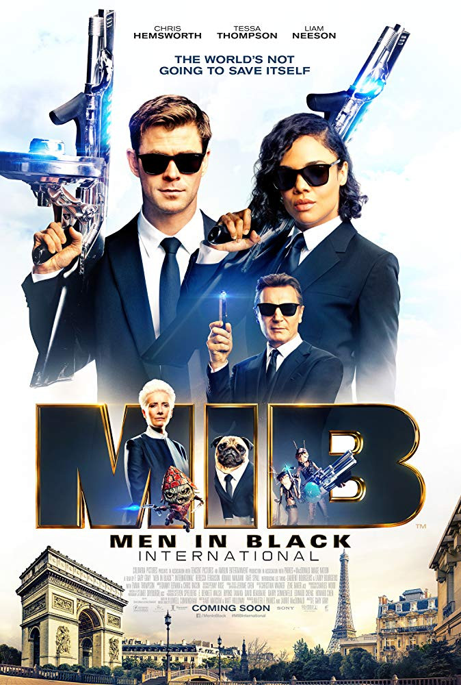 FILE PHOTO: A Poster of Men in Black: International (2019). ©Columbia Pictures