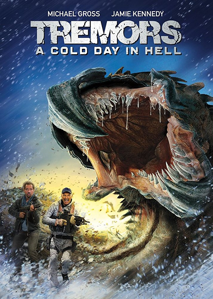 FILE PHOTO: A Poster of TREMORS: A COLD DAY IN HELL (2018). ©Universal Pictures Home Entertainment
