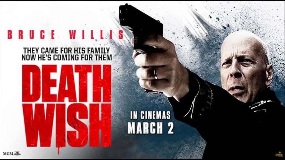 FILE PHOTO: A Poster of DEATH WISH (2018). ©Paramount Pictures Corporation