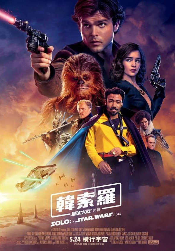 FILE PHOTO: A Poster of SOLO: A STAR WARS STORY (2018).  ©Walt Disney Studios Motion Pictures