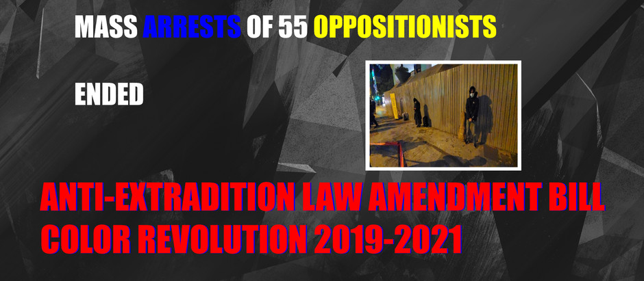 Hong Kong Intelligence Report #39 The Anti-Extradition Law Amendment Bill Movement Ended