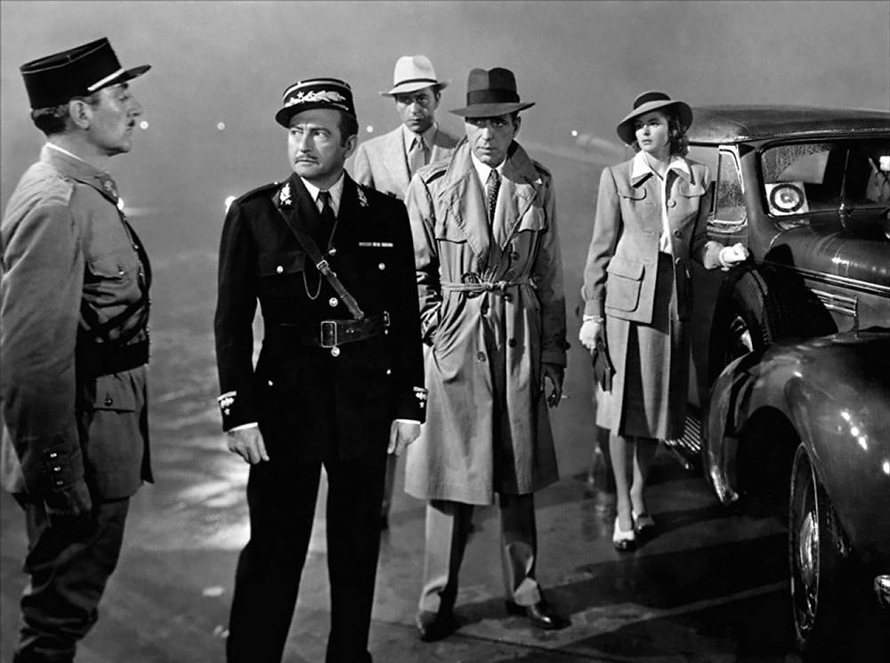 FILE PHOTO: A Still Image of CASABLANCA (1942). ©Warner Bros.
