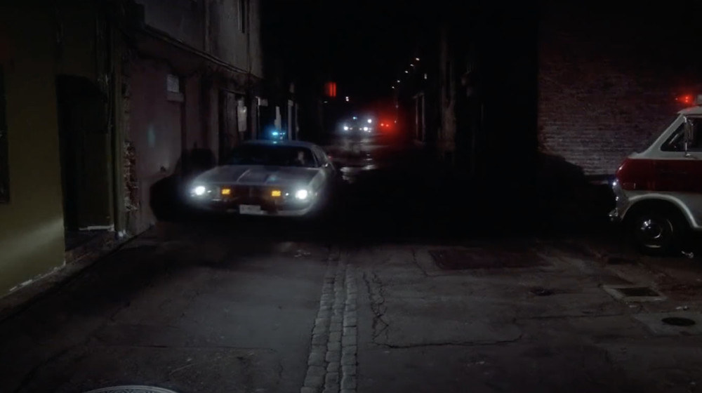 FILE PHOTO: Police Siren from this shot overlapped with the previous shot in The Night Strangler (1973). ©ABC