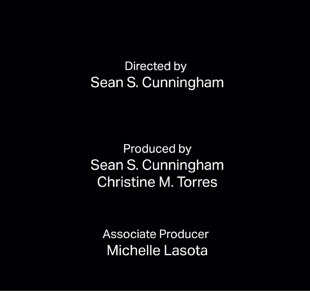 FILE PHOTO: End title roll.  ©Crystal Lake Entertainment