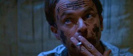 FILE PHOTO: A Still Image of IN THE MOUTH OF MADNESS (1994; Dir. John Carpenter). ©New Line Cinema