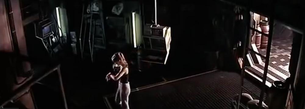 Fig.15 Elizabeth 'Willie' Williams jogging in. Image: Youtube
