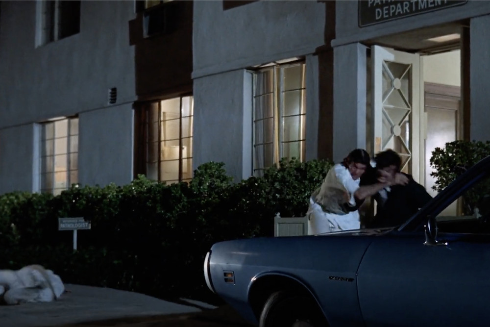 FILE PHOTO: Fig.1 Stunt performance in The Night Stalker (1972).   ©ABC