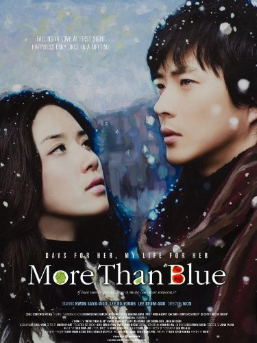 FILE PHOTO: A Poster of MORE THAN BLUE (2009). ©Mnet Media