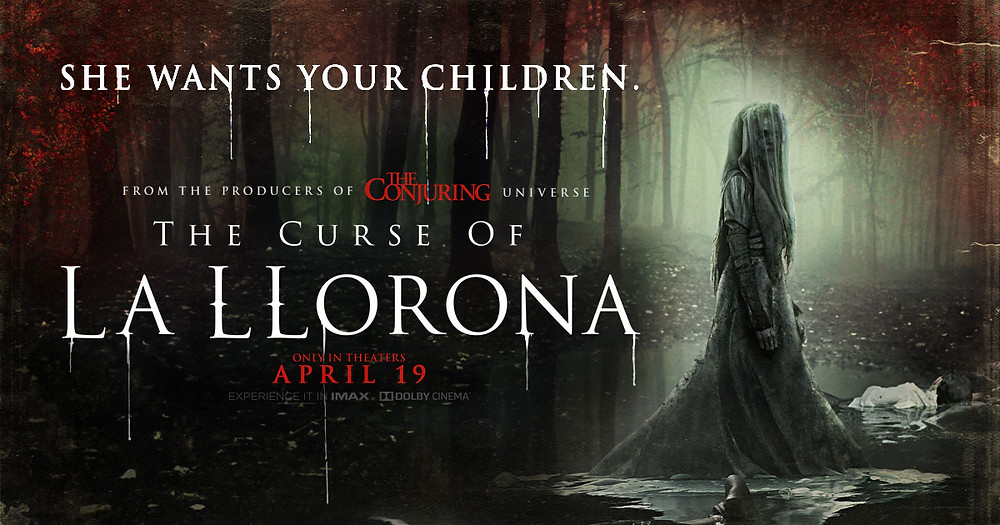 FILE PHOTO: A Poster of THE CURSE OF LA LLORONA (2019). ©New Line Cinema