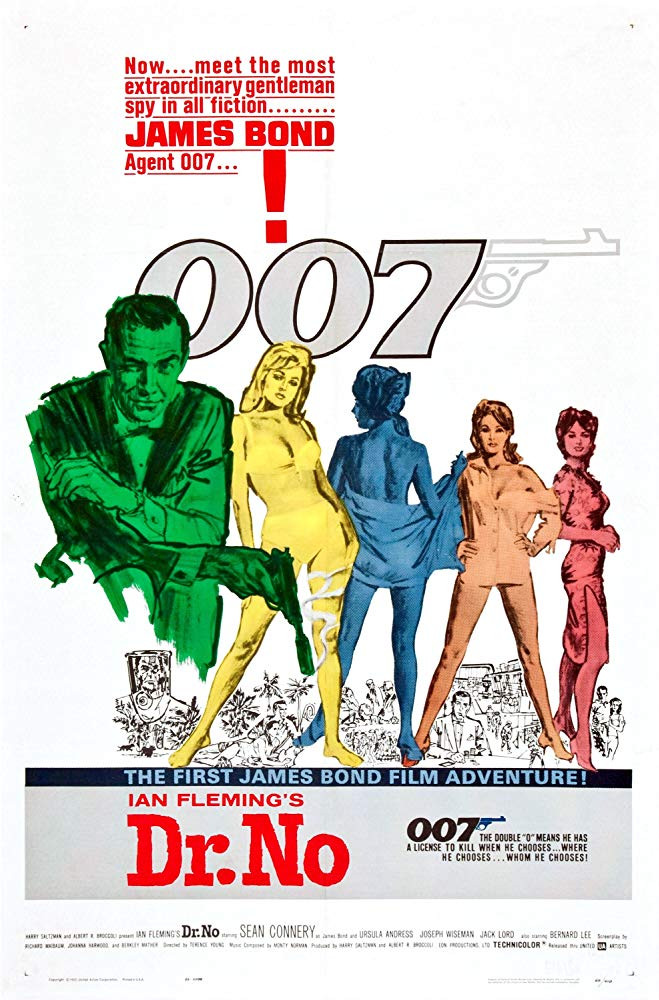 FILE PHOTO: A Poster of DR.NO (1962). ©United Artists Releasing