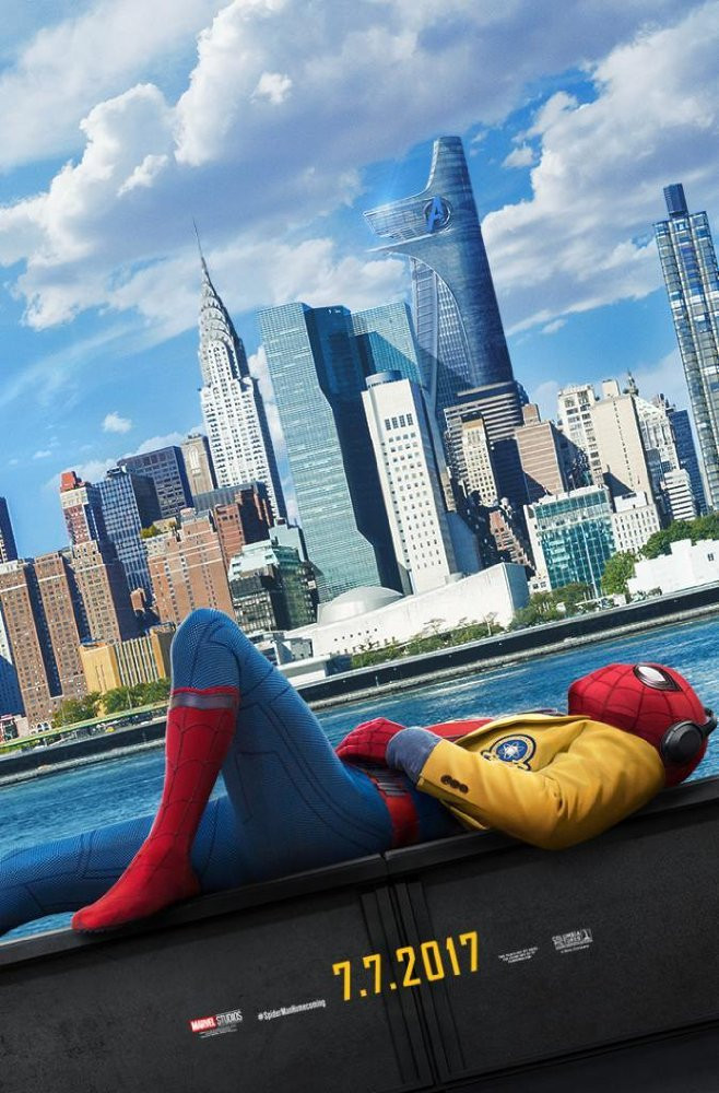 FILE PHOTO: A Poster of SPIDER-MAN: HOMECOMING (2017). ©Sony Pictures Entertainment Inc.