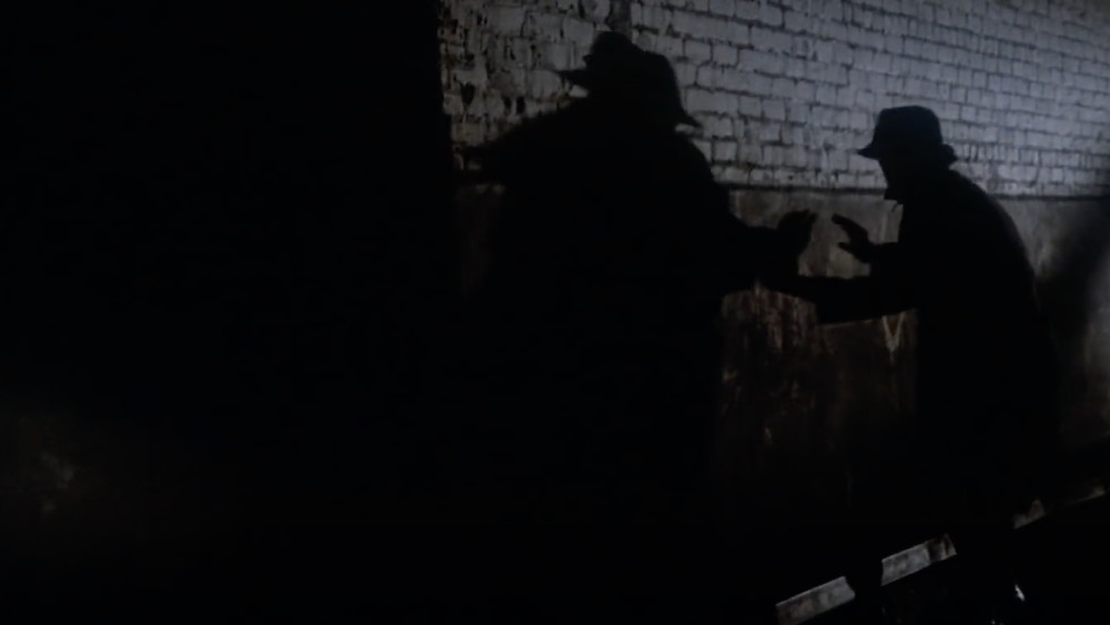 FILE PHOTO: The Strangler ambushing his next victim in The Night Strangler (1973). ©ABC