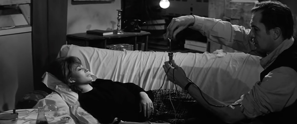 FILE PHOTO: Dr. Robert Morgan (Vincent Price) cures Ruth Collins (Franca Bettoia) in The Last Man on Earth (1964). ©Public Domain