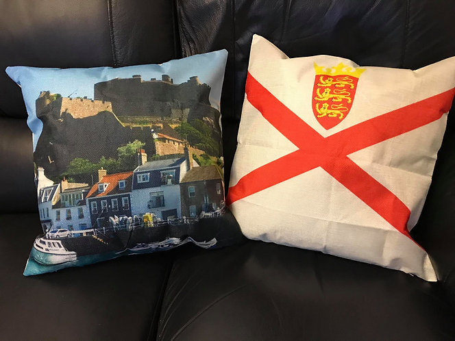 75th Liberation Jersey Island Cushion Cover 9th May 1945