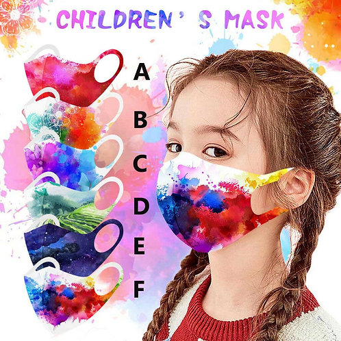 Face Mask Kids Size age 4-12 washable and reusable for Children