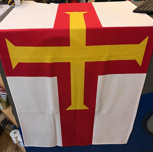 Guernsey Microfiber Flag Towel