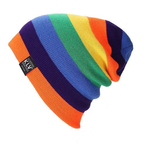 Rainbow Beanie Hat LGBTQ Pride