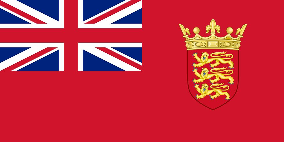 Jersey Civil Ensign Flag - nautical maritime Flag