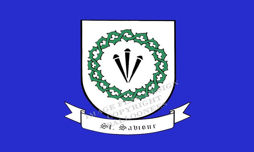 *BONUS ADD ON* - Guernsey Parish flag of St Saviour - (See Conditions)